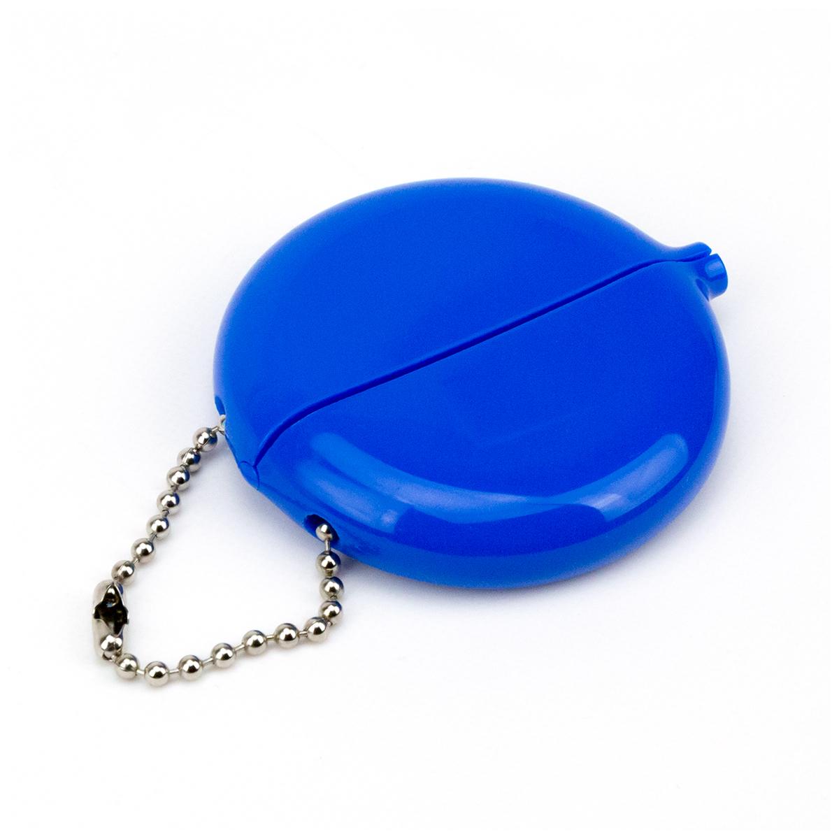 Balls Retro Rubber Coin Keychain