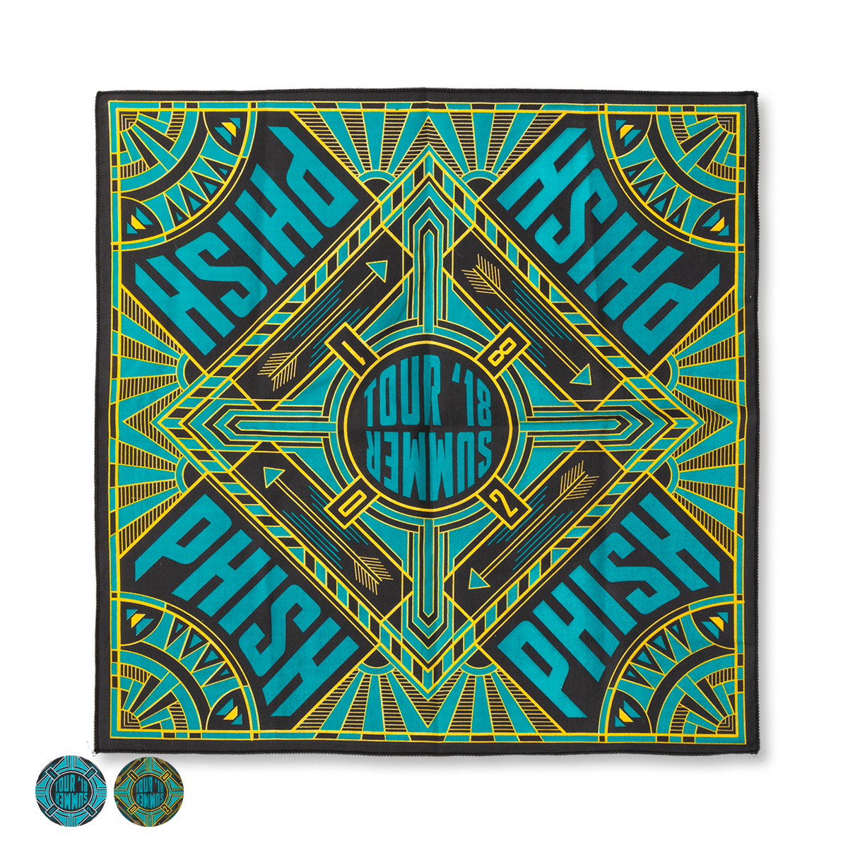 Summer Tour 2018 Bandana