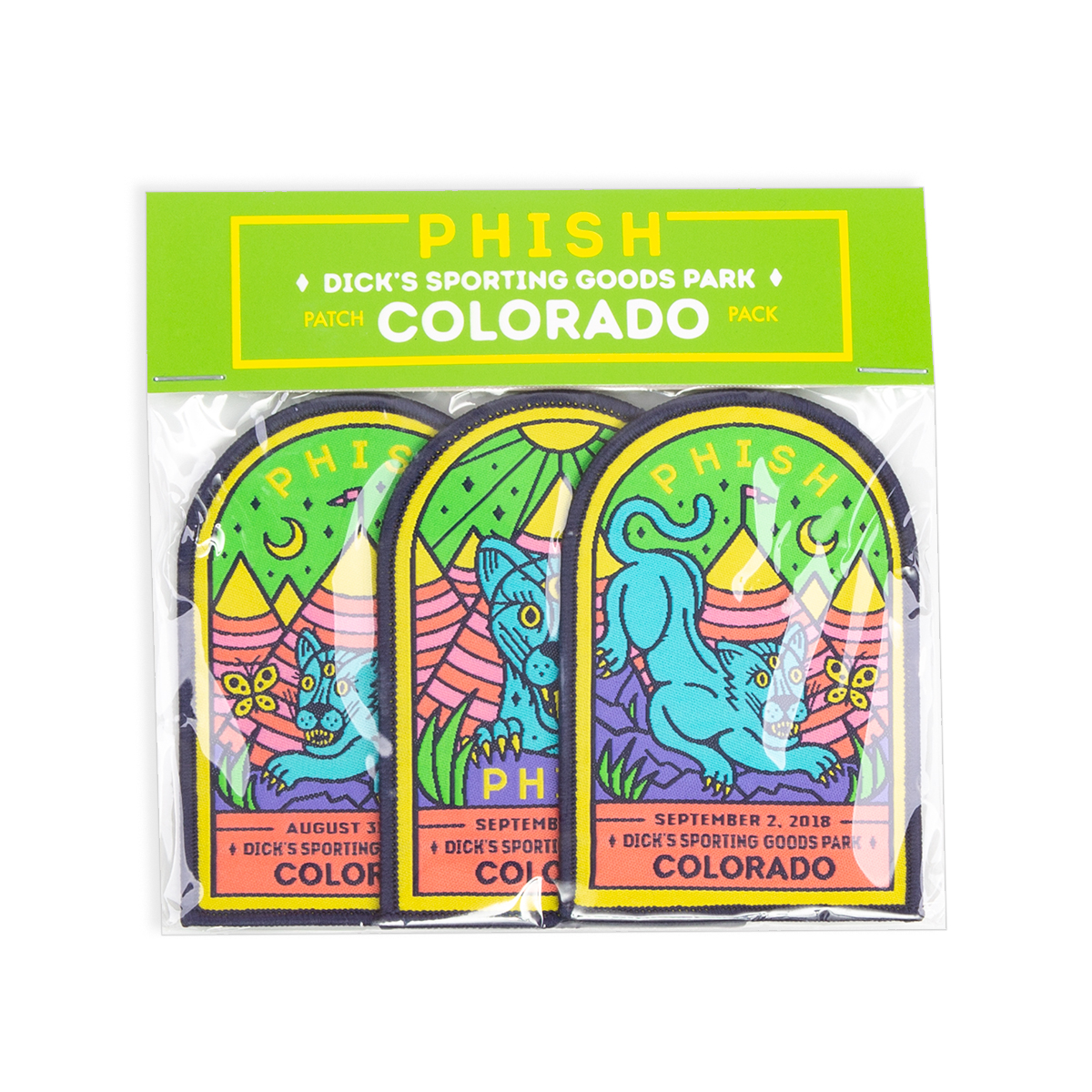 Colorado Event Patches (set of 3)
