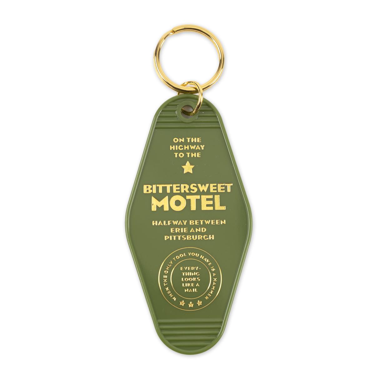 Bittersweet Motel Room Keychain
