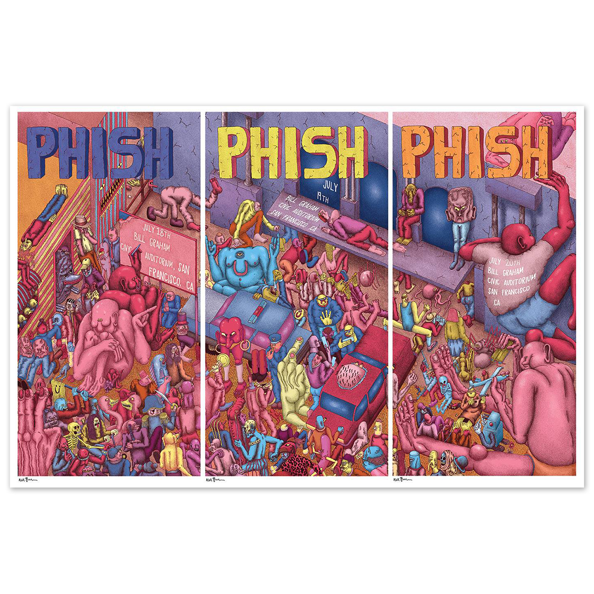 Limited Edition 7/18-20/2016 San Francisco, CA Posters