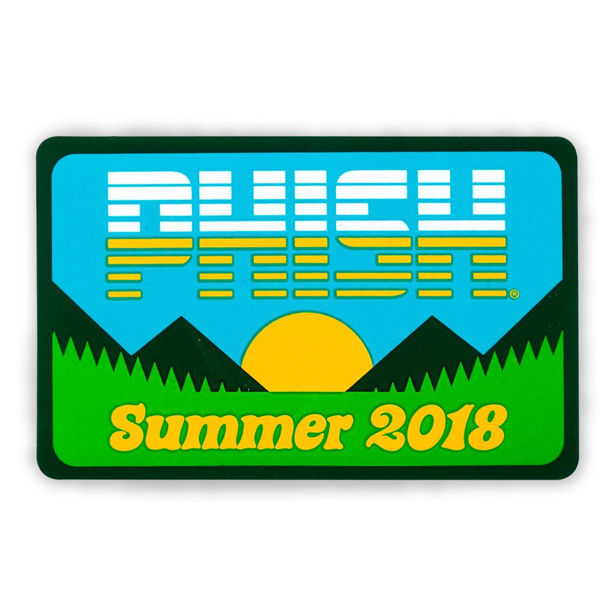 Summer Tour 2018 Sticker