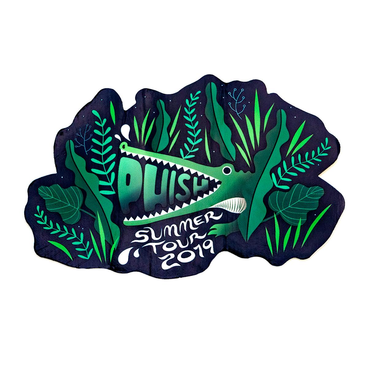 Summer Swampy Tour Sticker