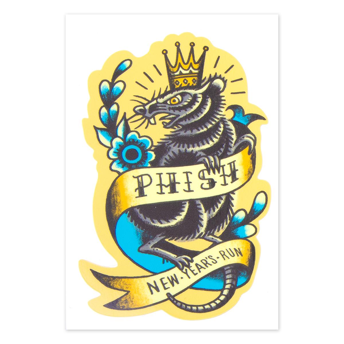 Furblanket Rat NYE 2019 Sticker