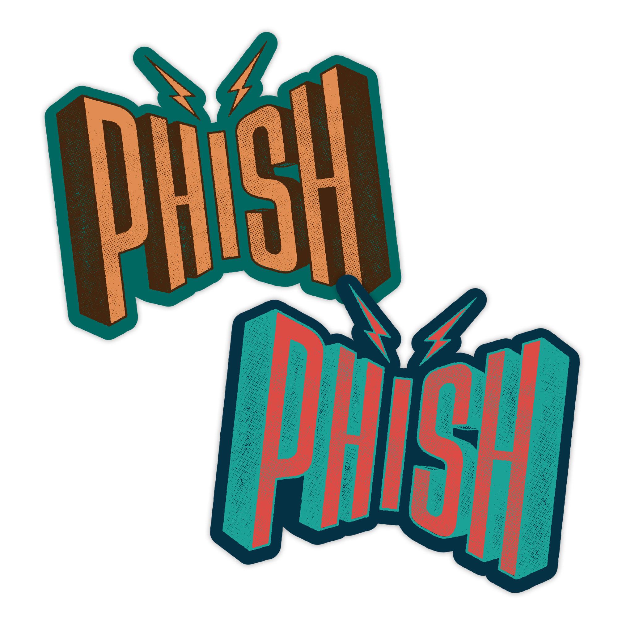 Phish Wattage Sticker