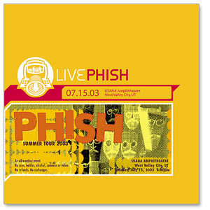 Live Phish 7/15/03