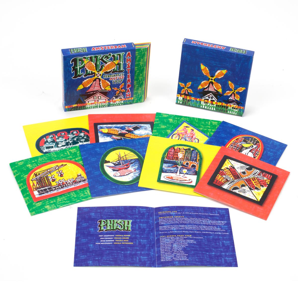 Amsterdam 8-CD Box Set