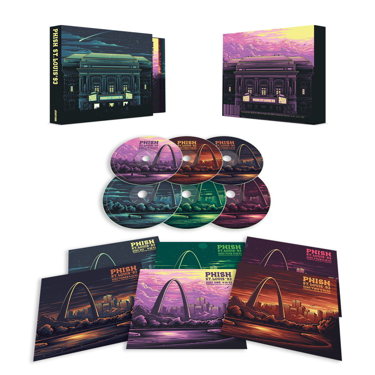 Phish St. Louis '93 6-CD Box Set