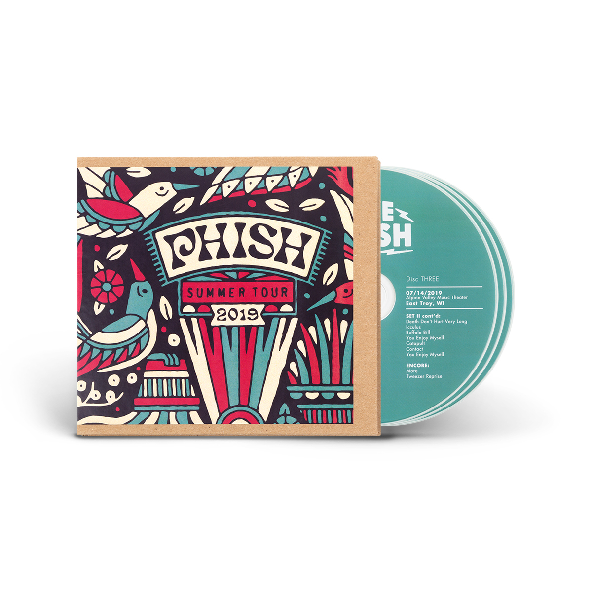 Live Phish 7/14/2019 - East Troy