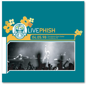 LivePhish: 4/5/98 Providence Civic Center, Providence, RI (3CD)