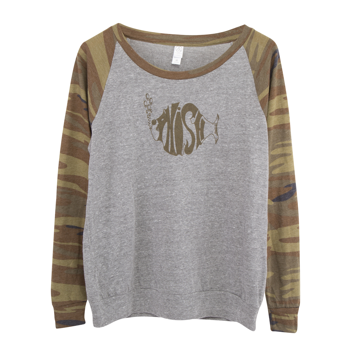 Women's Slouchy Camo Pullover