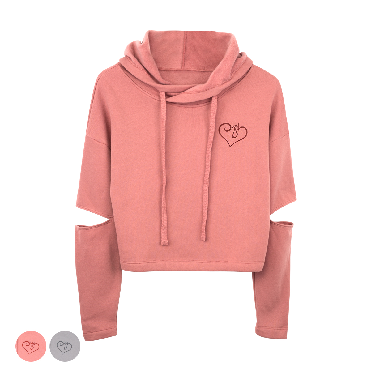 Vanessa Cut-Out Hoodie