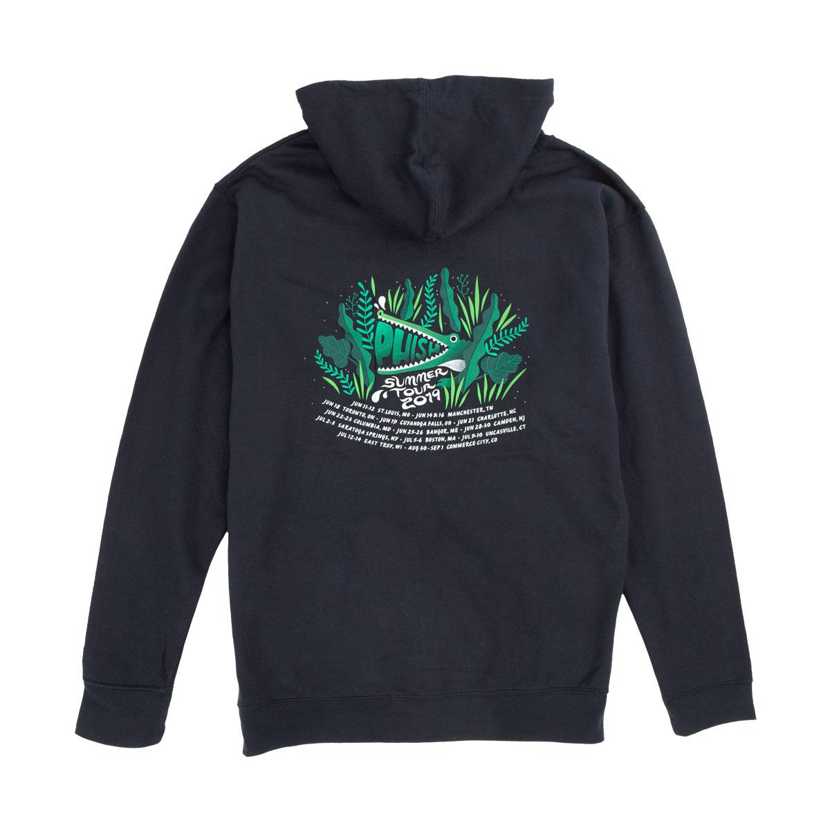 Summer Swampy 2019 Tour Zip Hoodie