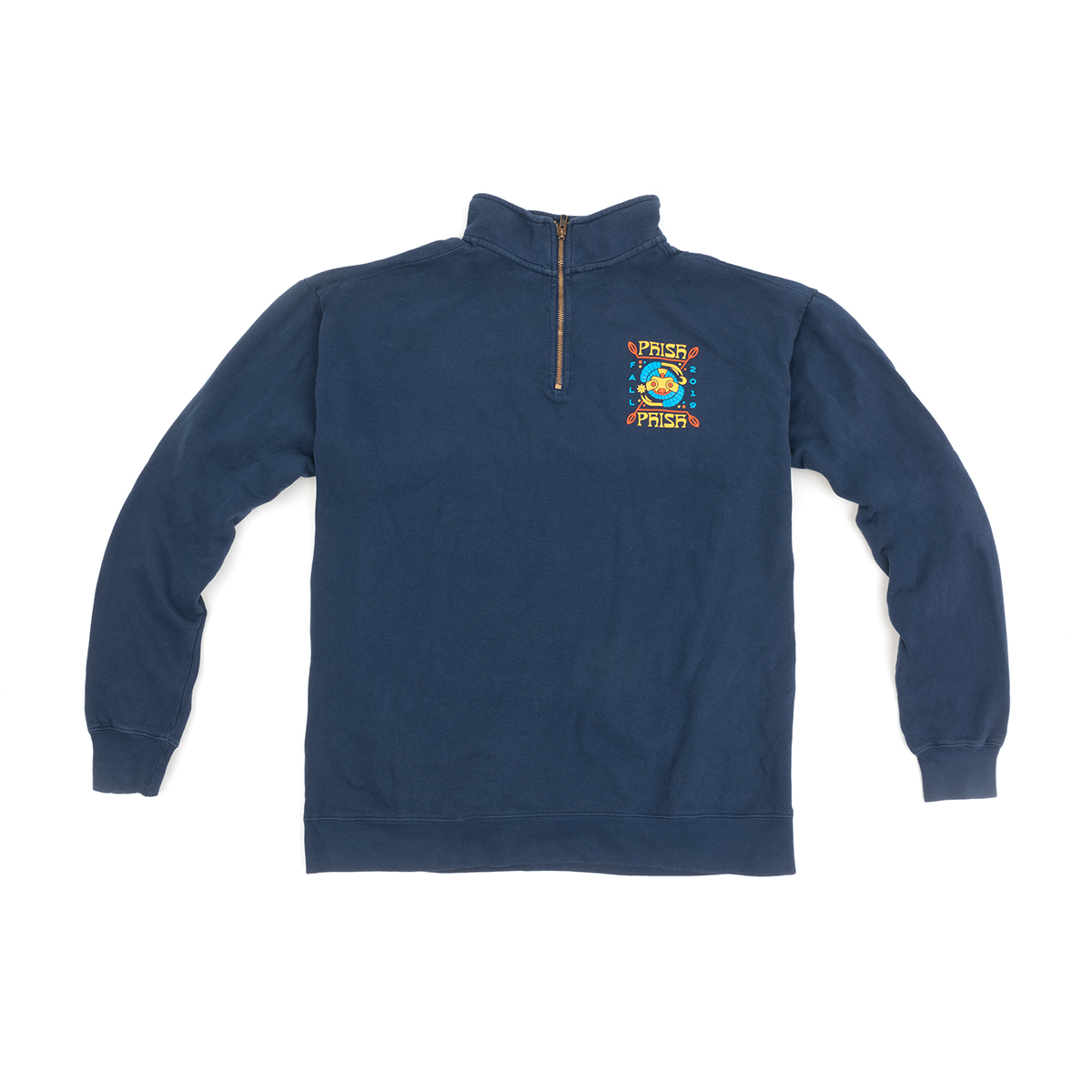 Fall Tour Sloth 1/4 Zip Pullover Sweatshirt
