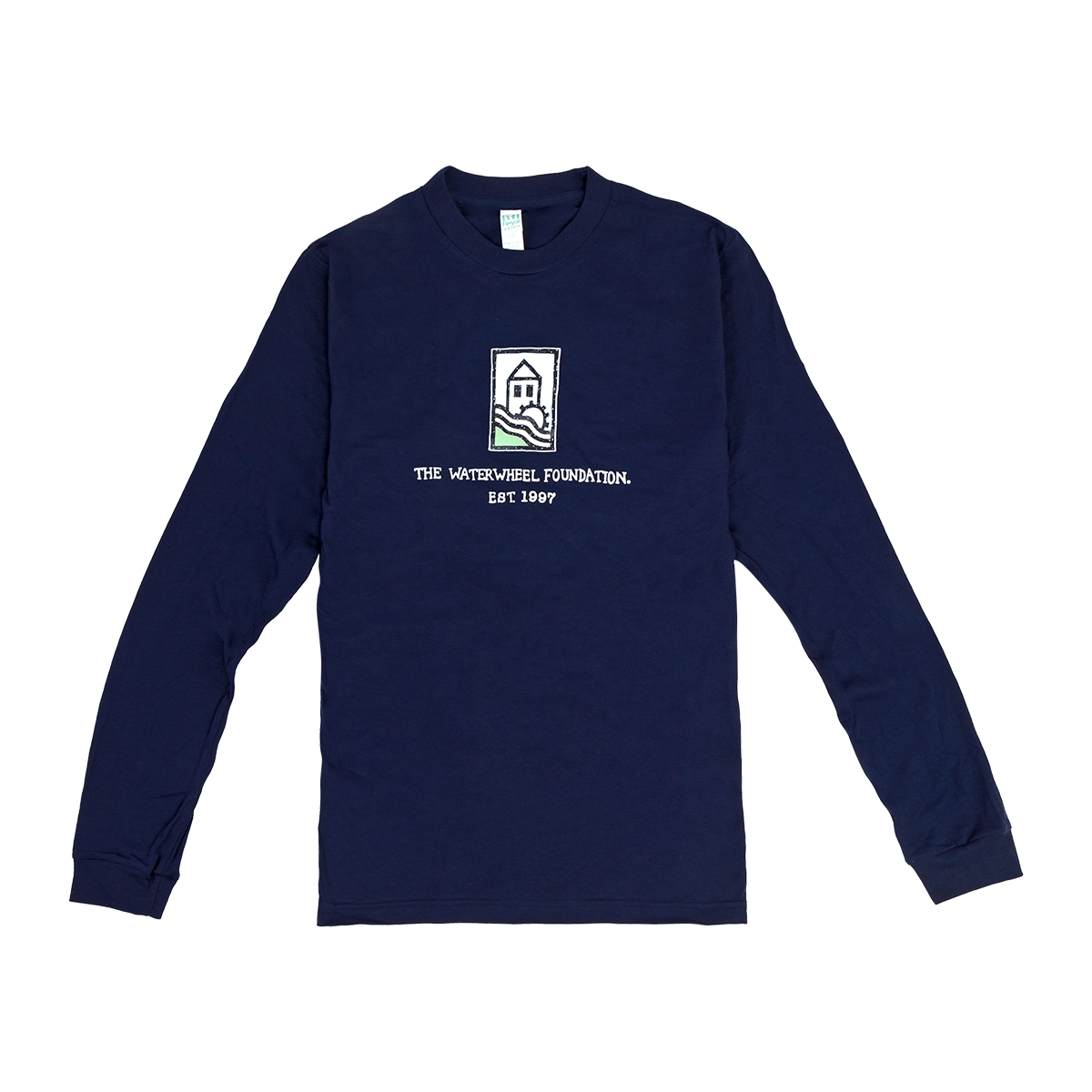 WaterWheel Foundation Long Sleeve on Ocean
