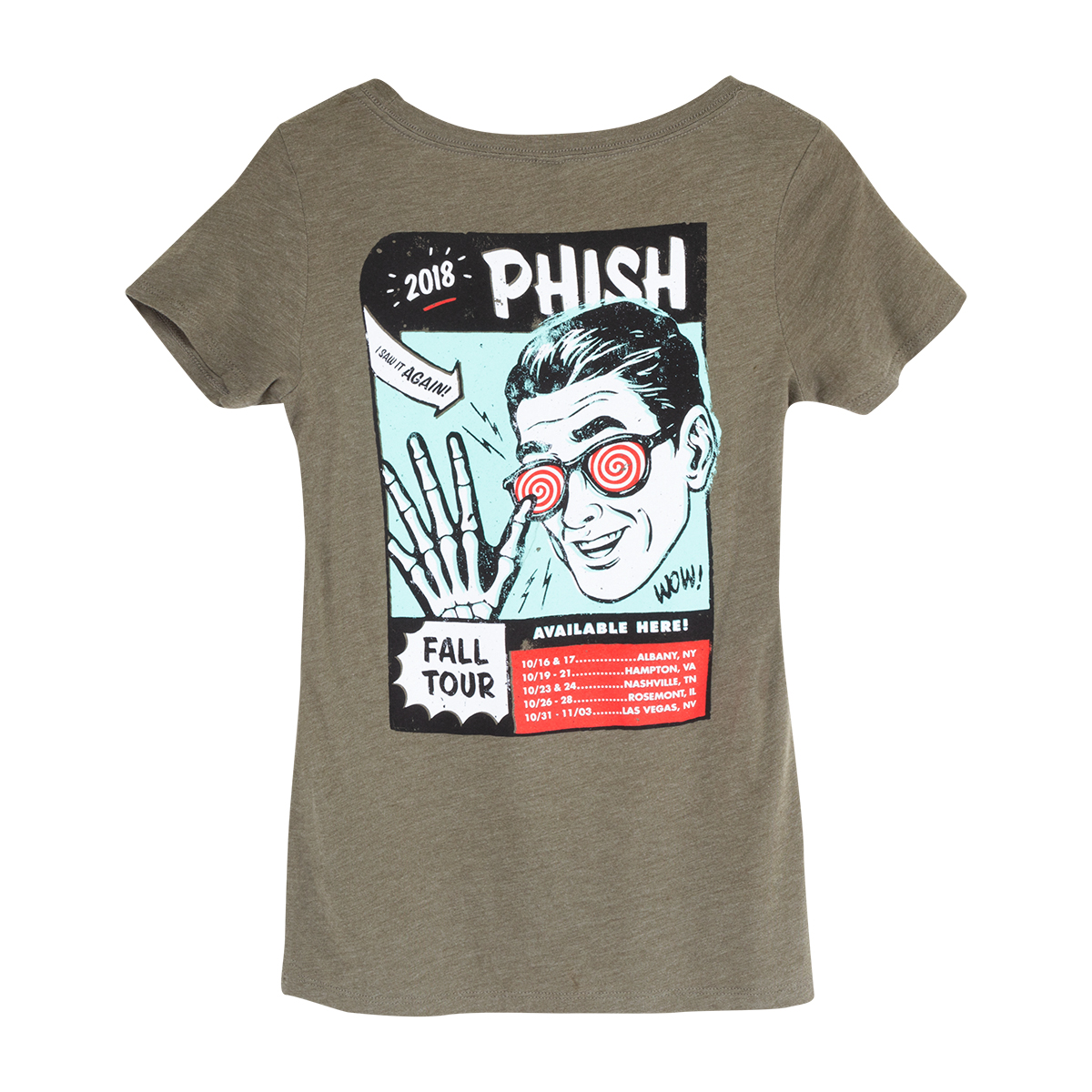 Fall Tour Womens X-Ray Specs T
