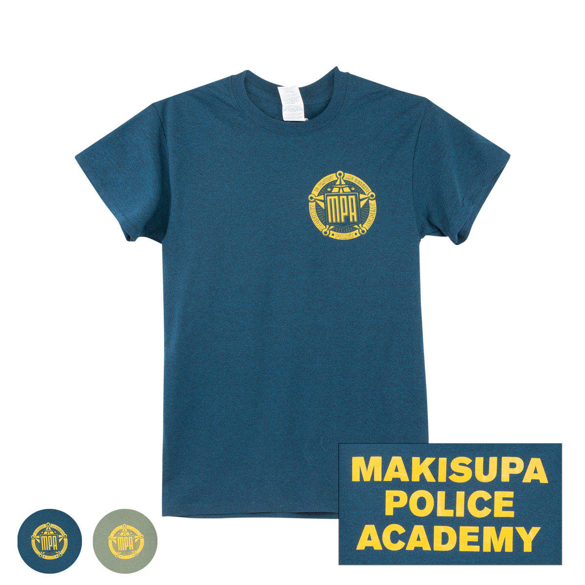 Makisupa Police Academy T-shirt