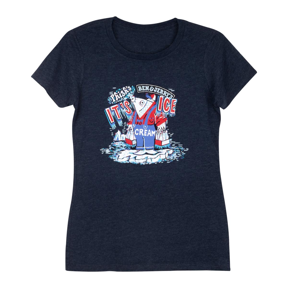 """Phish x Ben & Jerry's """"It's Ice... Cream"""" Women's T-shirt"""