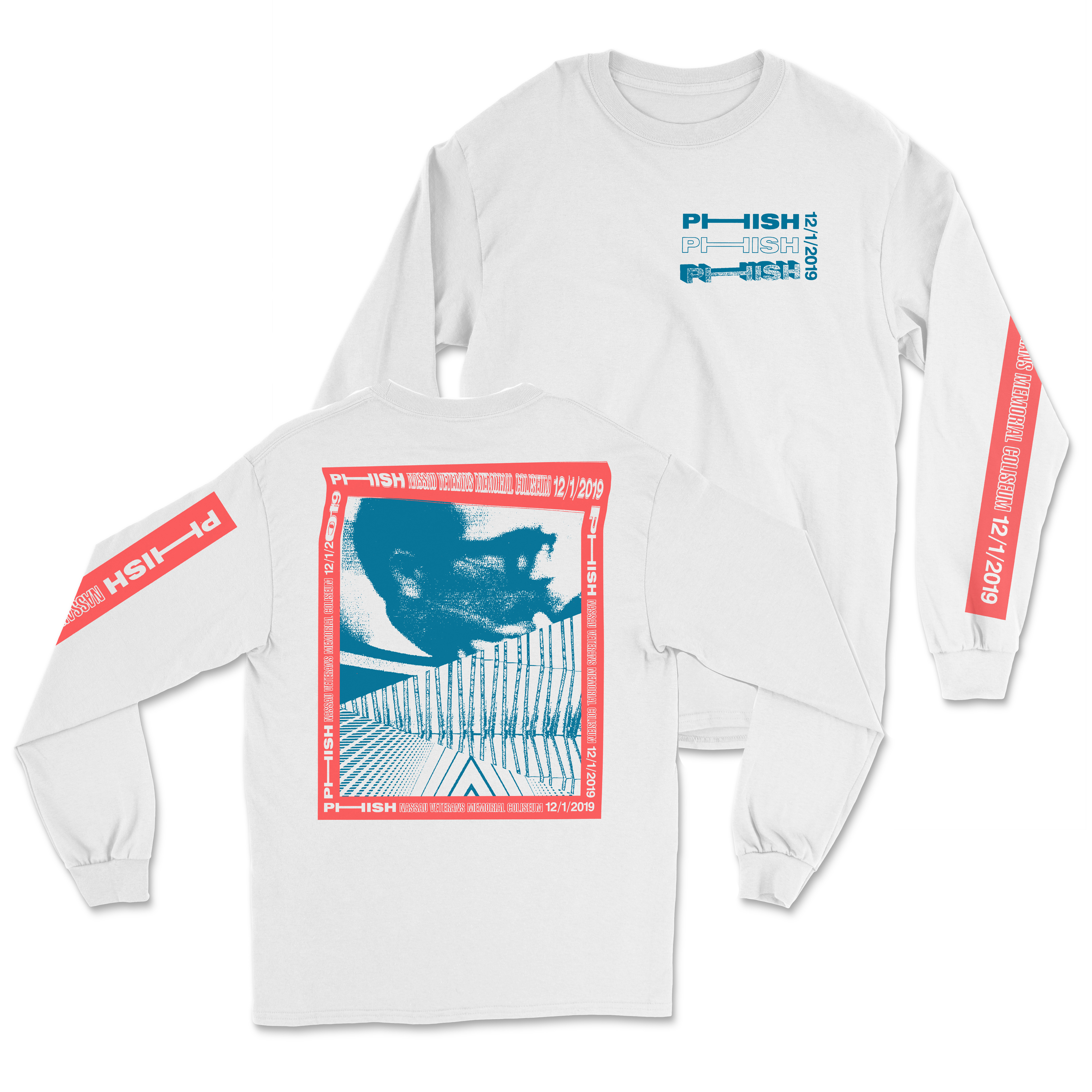 Uniondale Fall Tour Longsleeve T on White