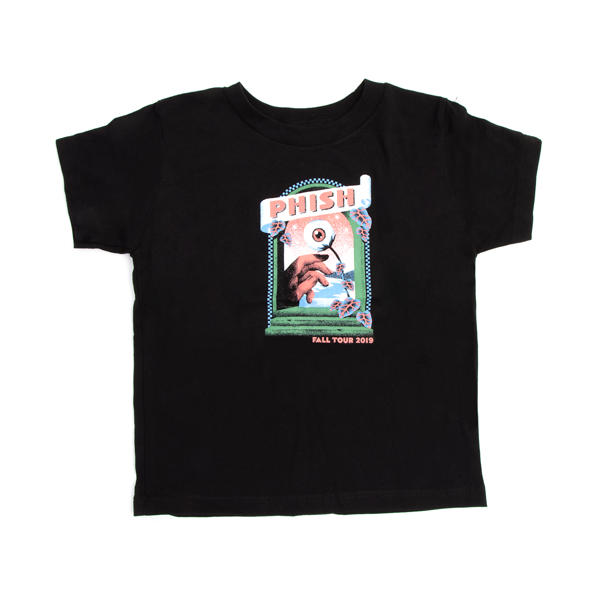 Fall Tour 2019 Toddler T on Black