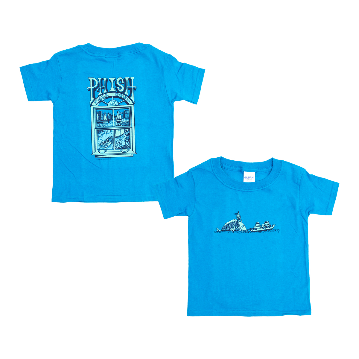Fall Tour 2019 Pollock T on Aqua