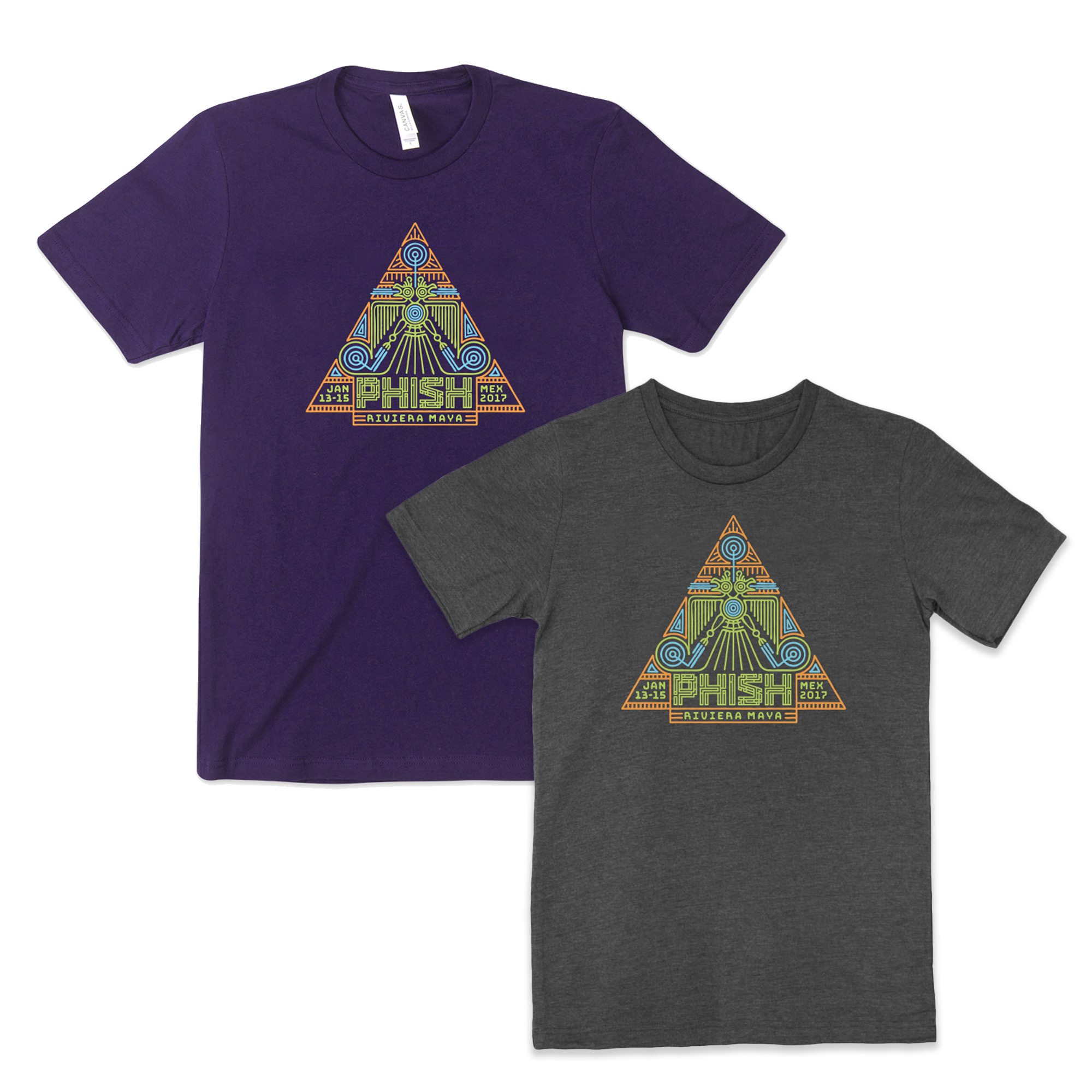 Mexico 2017 Pyramids Redux Tee