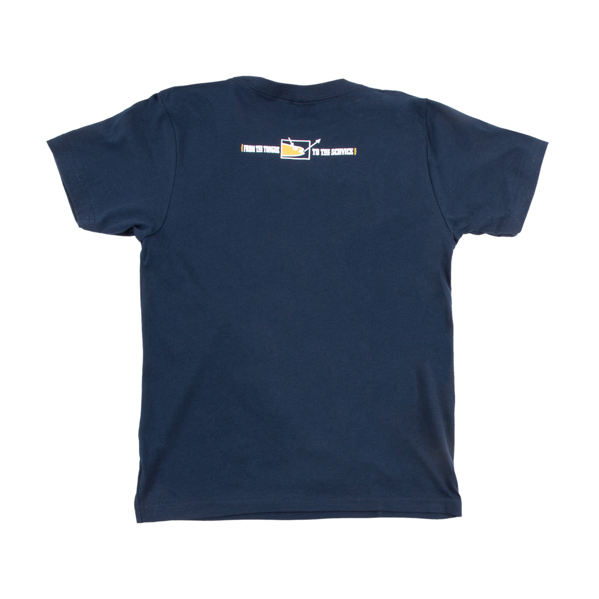 Youth Doniac Schvice Tee on Navy