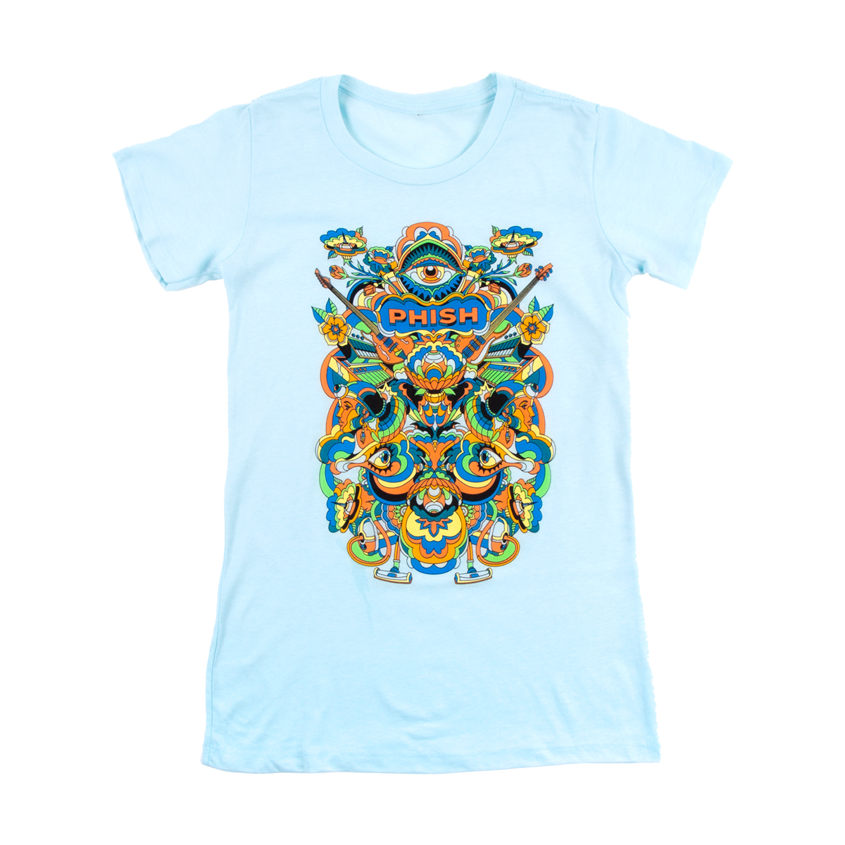Women's Visible Tee on Ice Blue