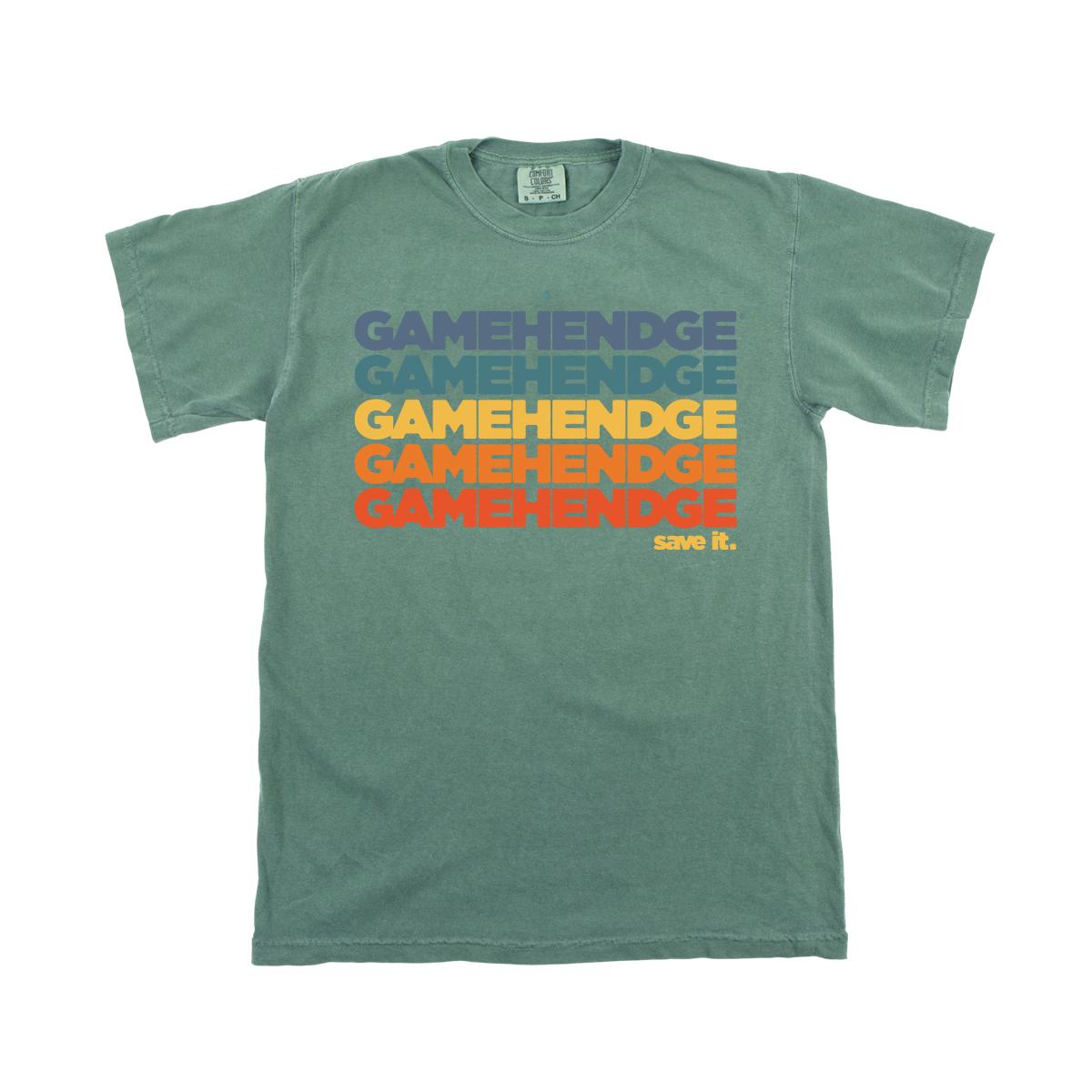 Save Gamehendge Heavyweight Tee