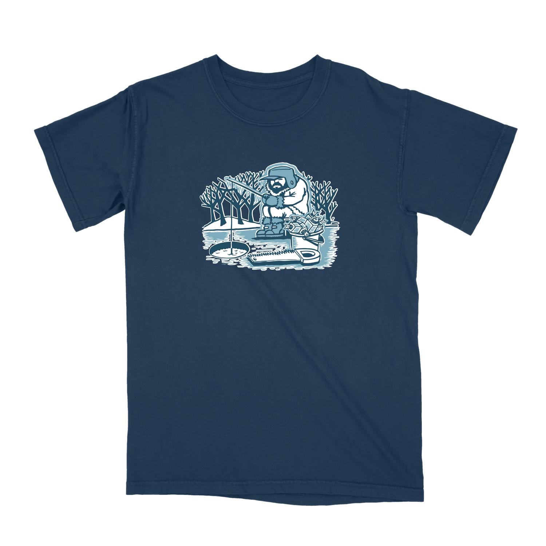 Pollock Ice Fisherman Tee