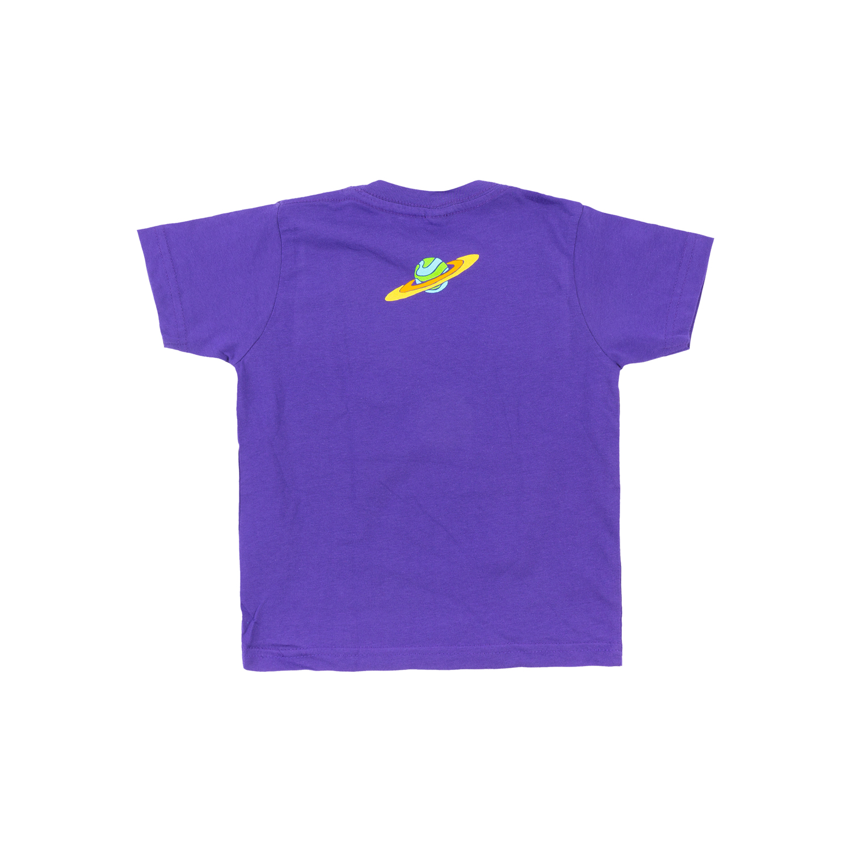 Cosmic Summer 2021 Kid's Tee on Purple