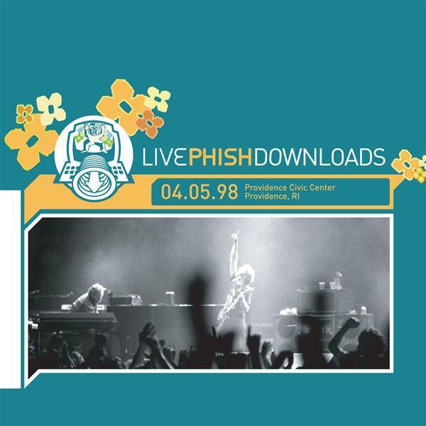 1998-04-05  Providence Civic Center in Providence, RI  - Digital Download