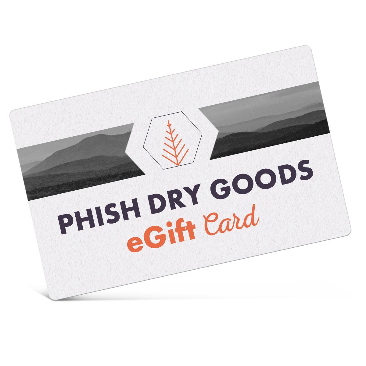 Phish Dry Goods eGift Card