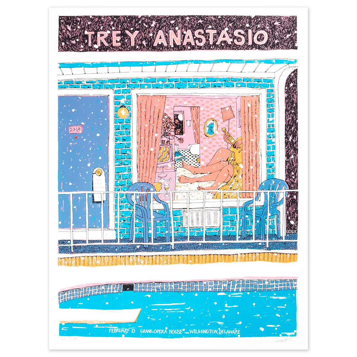 Trey Anastasio Grand Opera House, Wilmington LE Poster