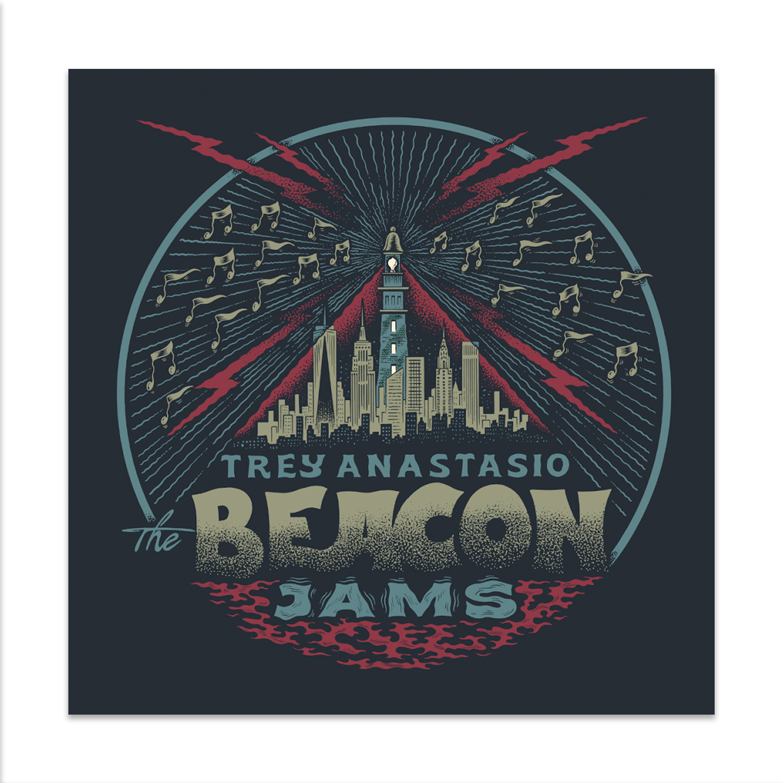 Trey Anastasio The Beacon Jams Lithograph by Your Cinema
