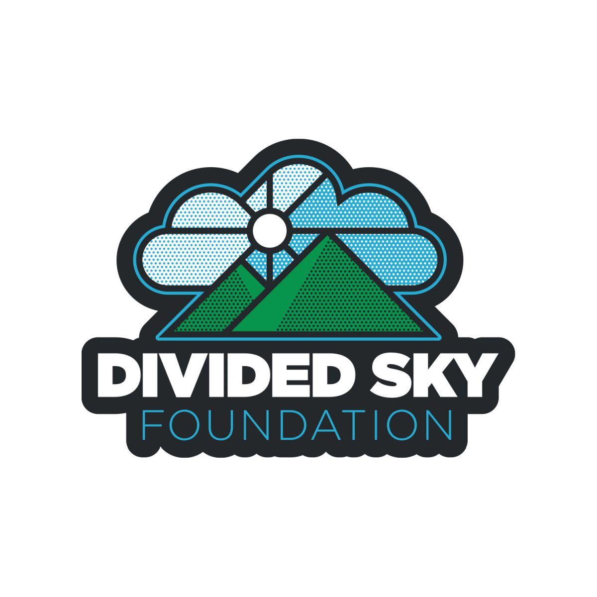 Divided Sky Foundation Sticker