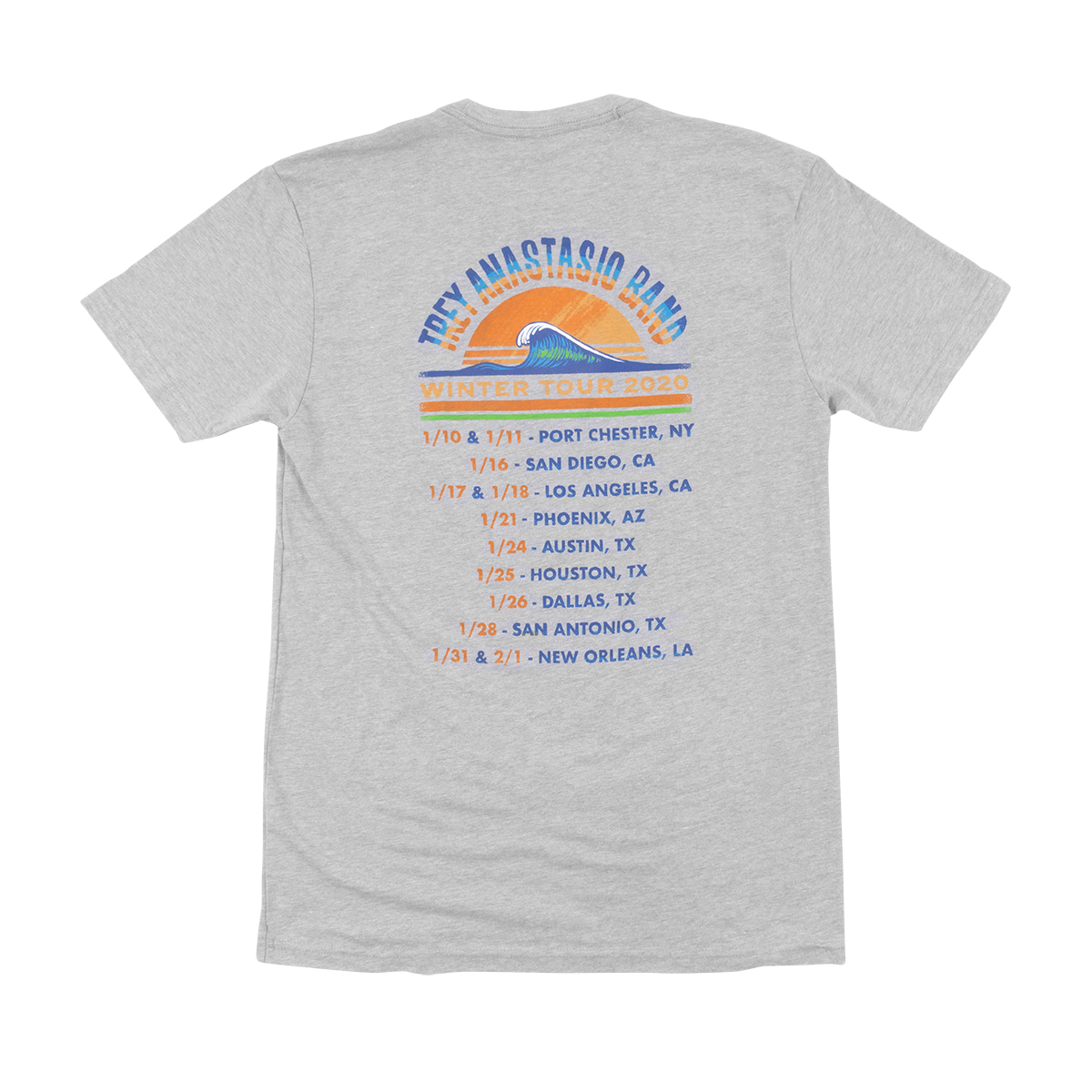 Trey Anastasio Band Men's Pacific Surf Tee