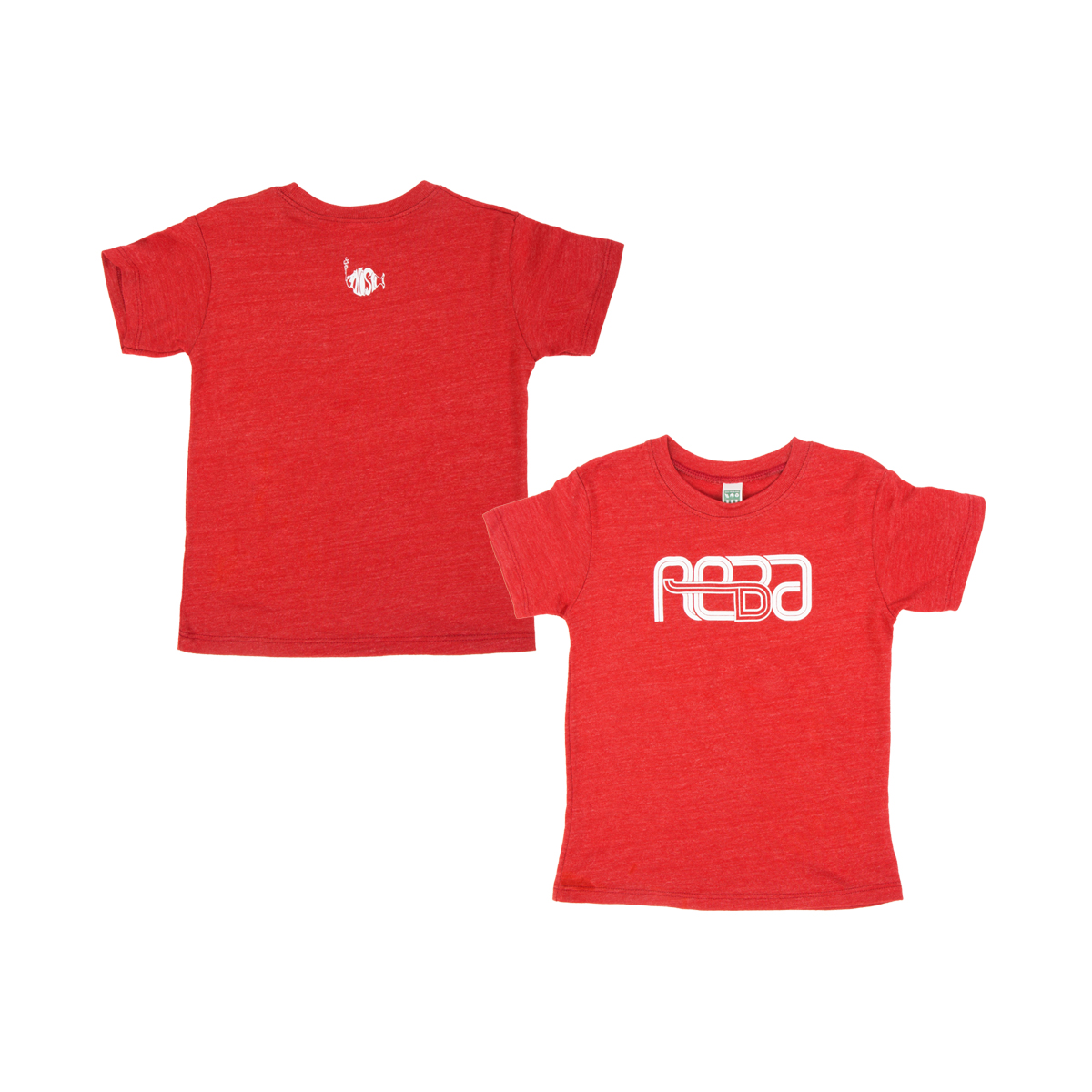 Kids Reba T-Shirt on Red