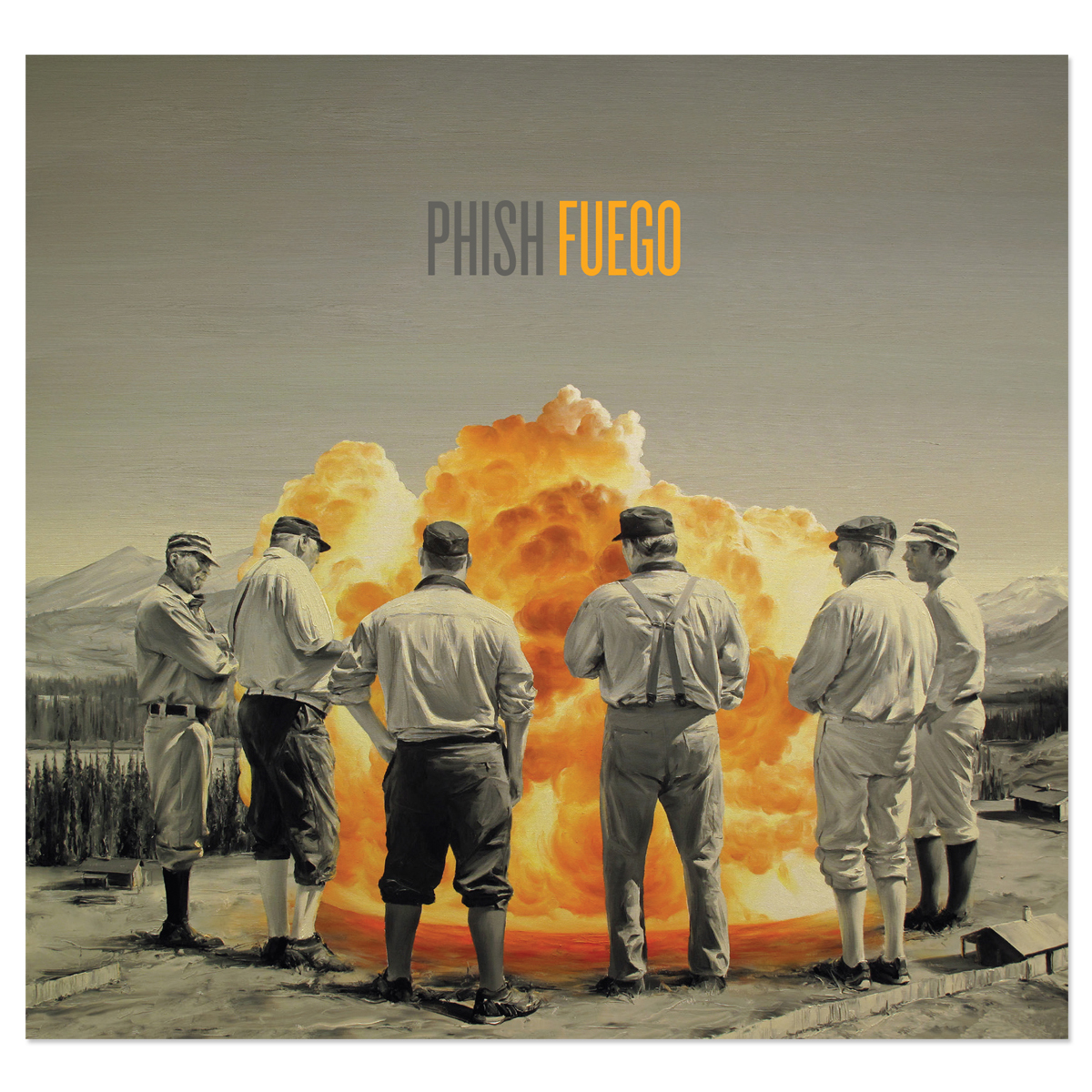 Phish Fuego CD