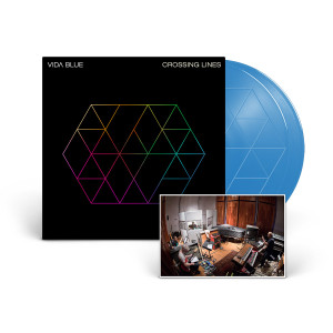 Vida Blue 'Crossing Lines' 2-LP Blue Vinyl