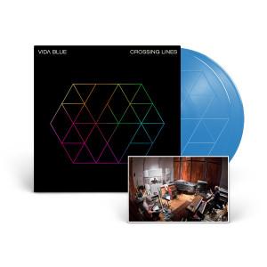 Vida Blue 'Crossing Lines' 2-LP Blue Vinyl