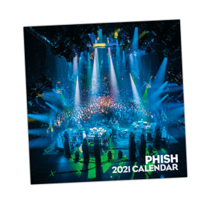Official Phish 2021 Wall Calendar Pre-Order