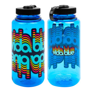 Vida Blue Glitch Nalgene Bottle