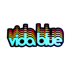 Vida Blue Logo Sticker