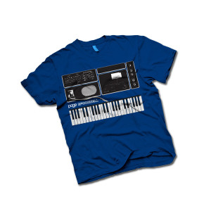 Toddler Page McConnell Synth T-Shirt on Royal