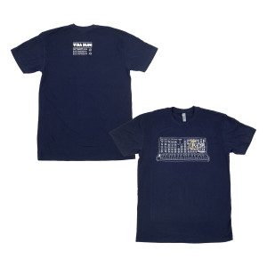 Vida Blue Synth T on Midnight Navy