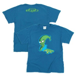 Aquaman Tee on Summer Blue