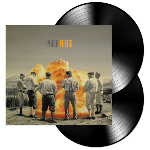 Phish Fuego 2-LP Black Vinyl