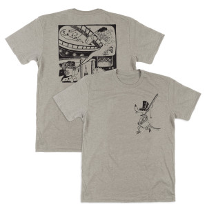 Pollock Junta Tee on Silk
