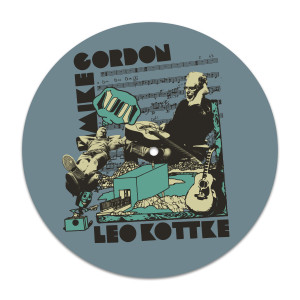 Mike Gordon & Leo Kottke Noon Record Player Slip Mat